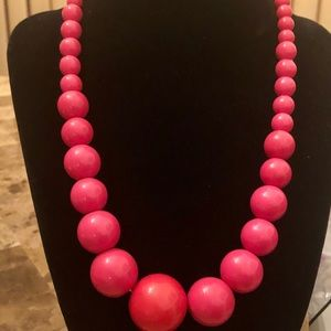 Jewelry - Necklace 1980 pink